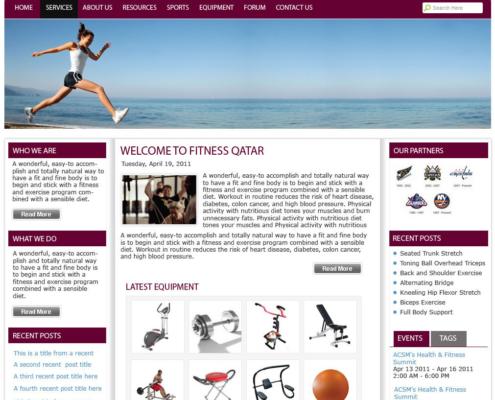FitnessQatar 495x400 - Design Portfolio