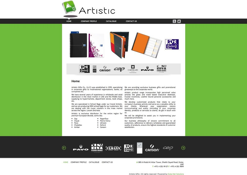 Artistic Gifts - Artistic Gifts