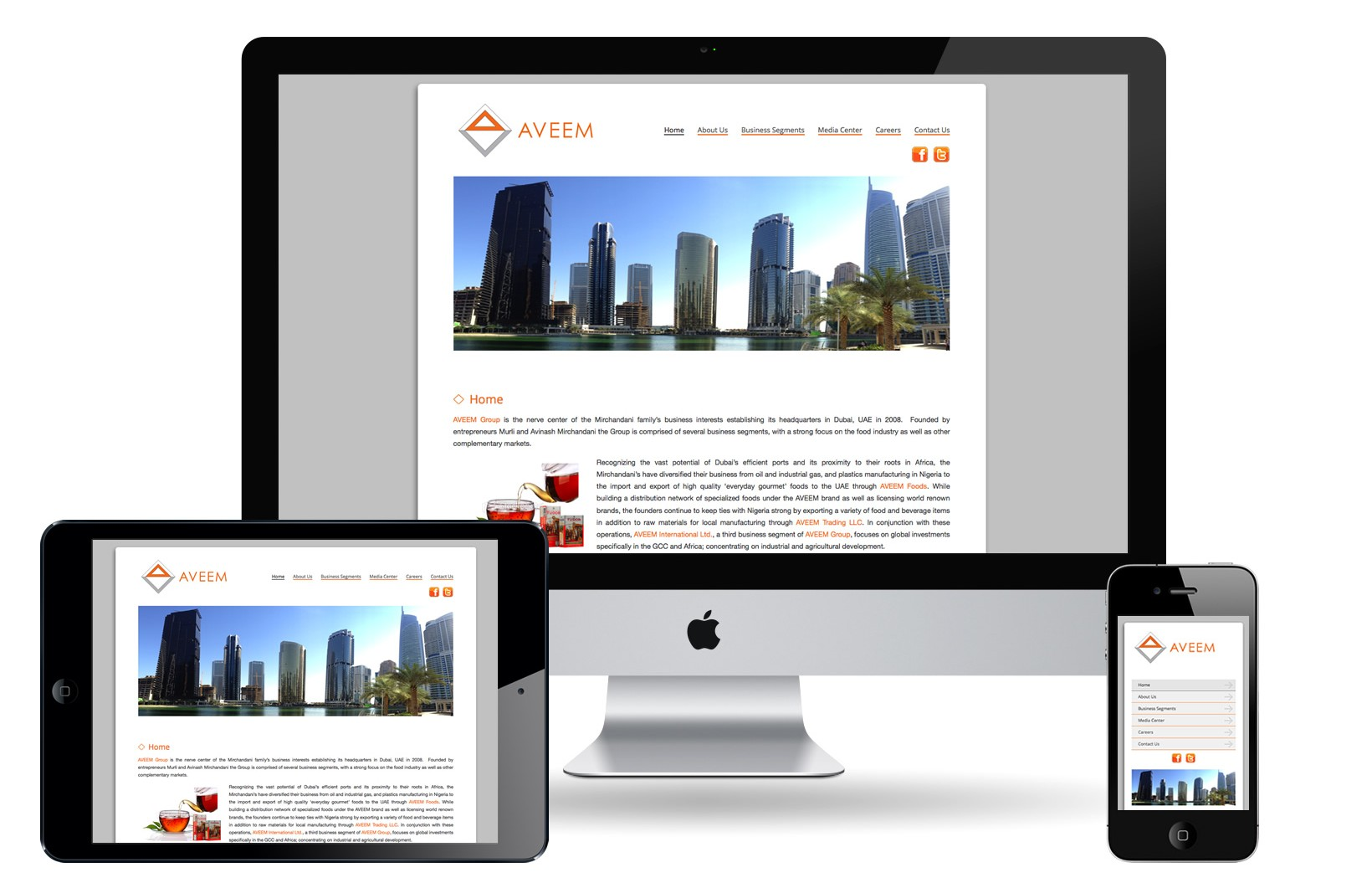 Aveem Responsive e1383594284650 - Fluid Layout Responsive Design