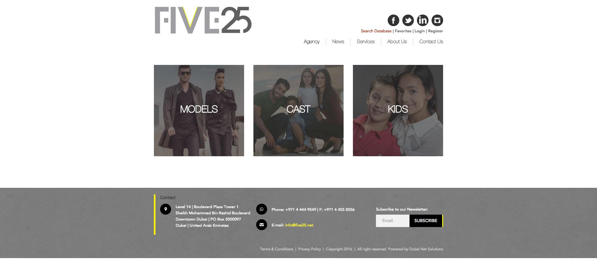 Five25 web portfolio - Five25