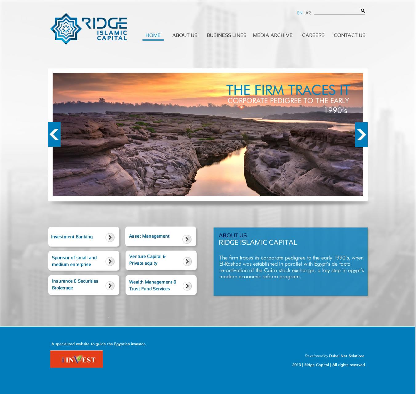 JR RIDGE WEB 10 01 Home - Ridge Capital Holding
