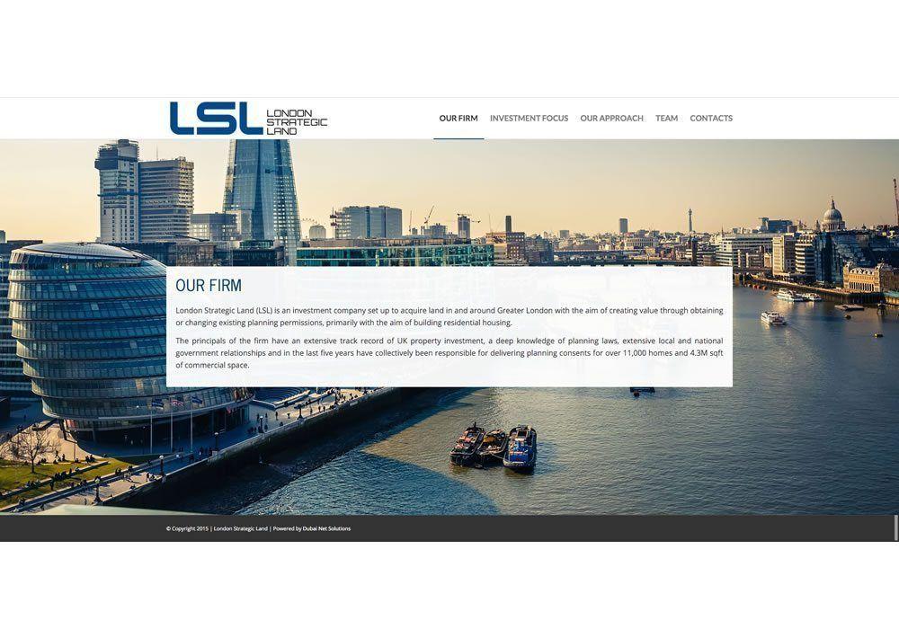 LSL web 01 - London Strategic Land